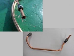 銅パイプ加工